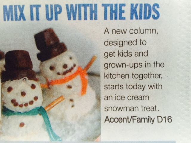 snowman mix it up with kids