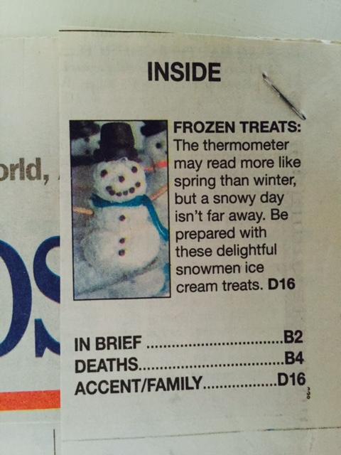 snowman teaser