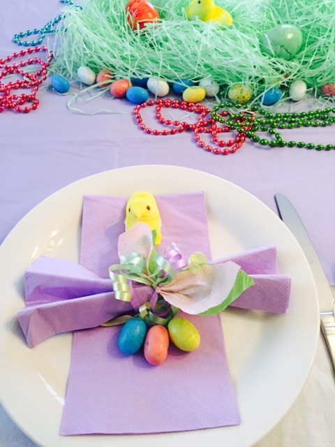 peep place setting